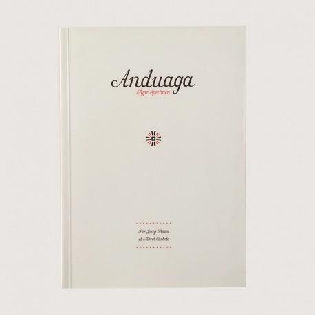 Anduaga. Type specimen