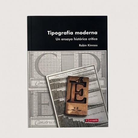 Tipografía moderna. Un ensayo histórico crítico