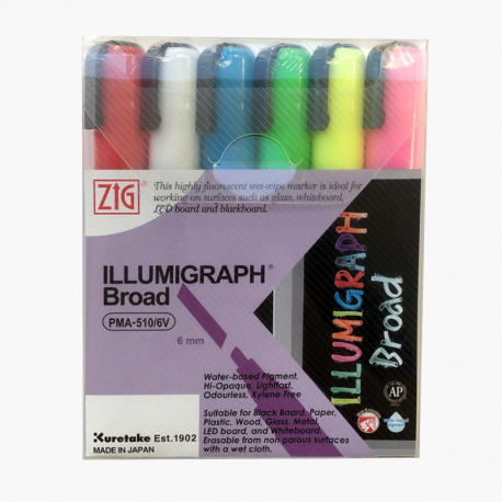 ZIG Illumigraph broad set 6