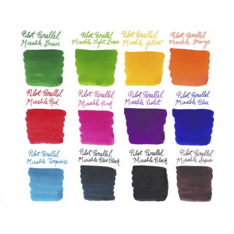 Tintas Pilot repuestos 12 colores