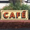 Letrero CAFÉ