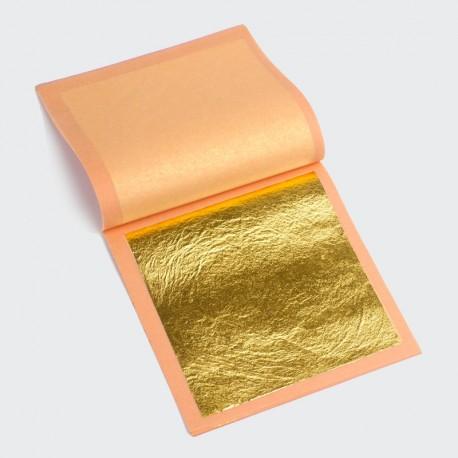 Láminas de oro genuino 23K