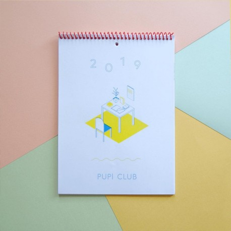Calendario 2019 - Pupi Club