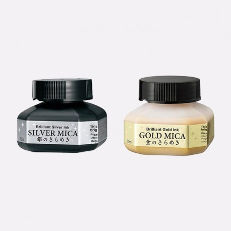 Gold and Silver Mica 60 ml