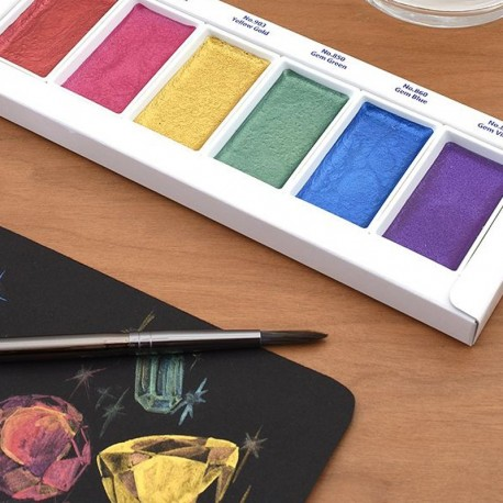 GANSAI TAMBI Set 6 colores Gemas