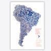 Mapa de América del Sur