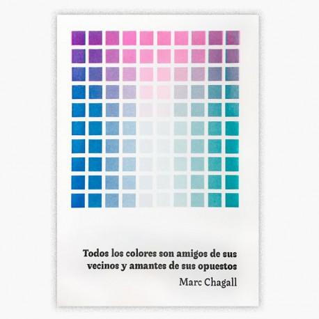 Afiche Colores Marc Chagall