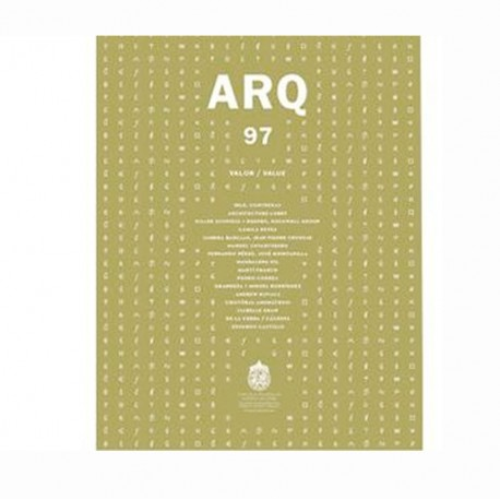 Revista ARQ 97 – Valor
