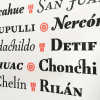 Especímen Tipográfico Tejuela