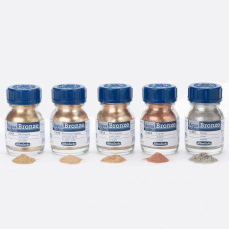 Pigmentos en polvo Aqua Bronze Schmincke