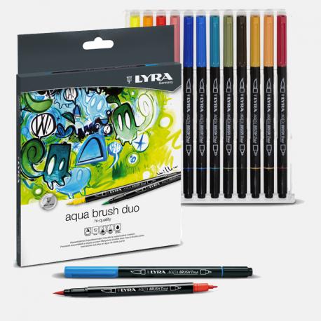 Rotuladores Lyra Aqua Brush Duo Set