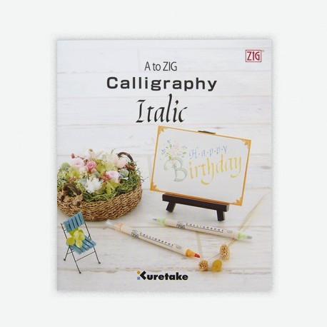 A To ZIG Calligraphy Book Italic