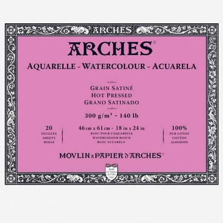 Block Acuarela Arches 300gr Grano...
